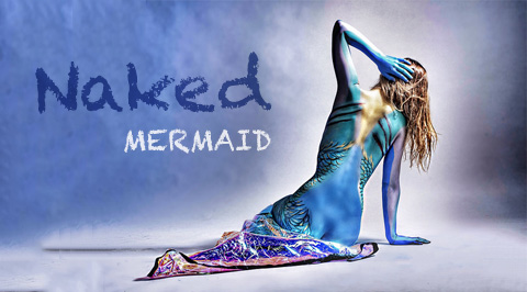Naked mermaids without fins